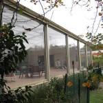 Ziptrak patio blinds