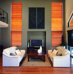 Luxaflex timber venetians